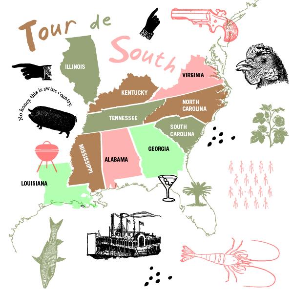 Tour de South