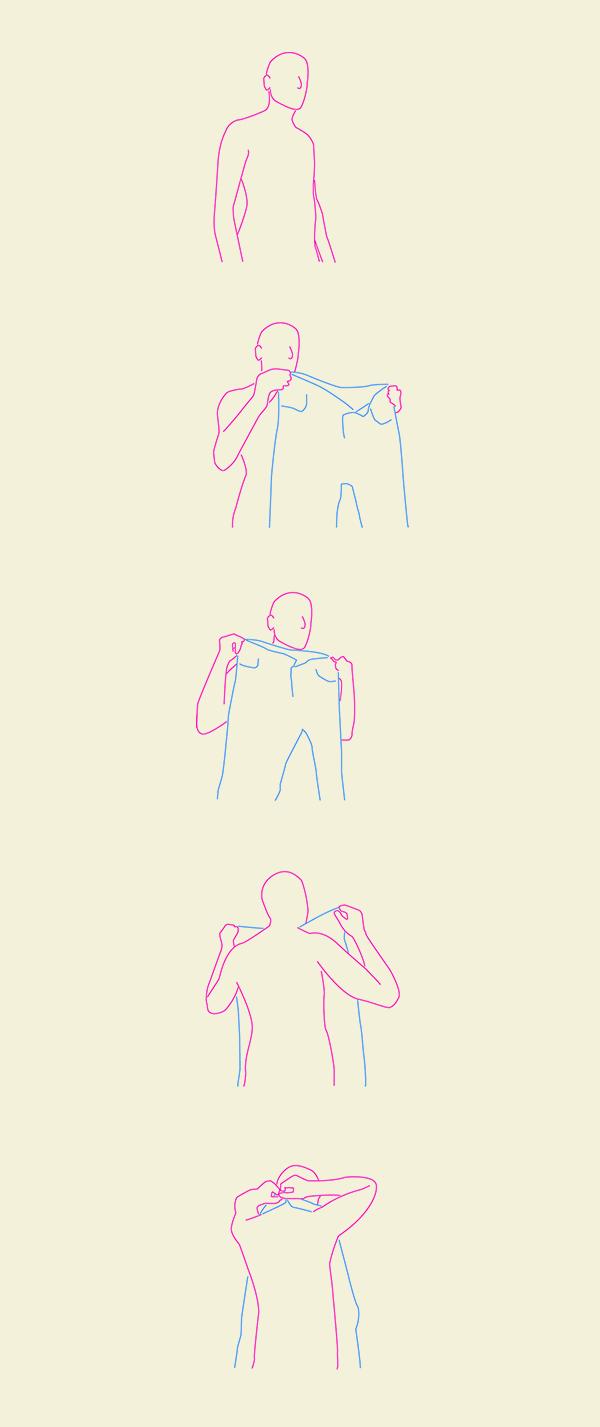 Onderbroek om je nek