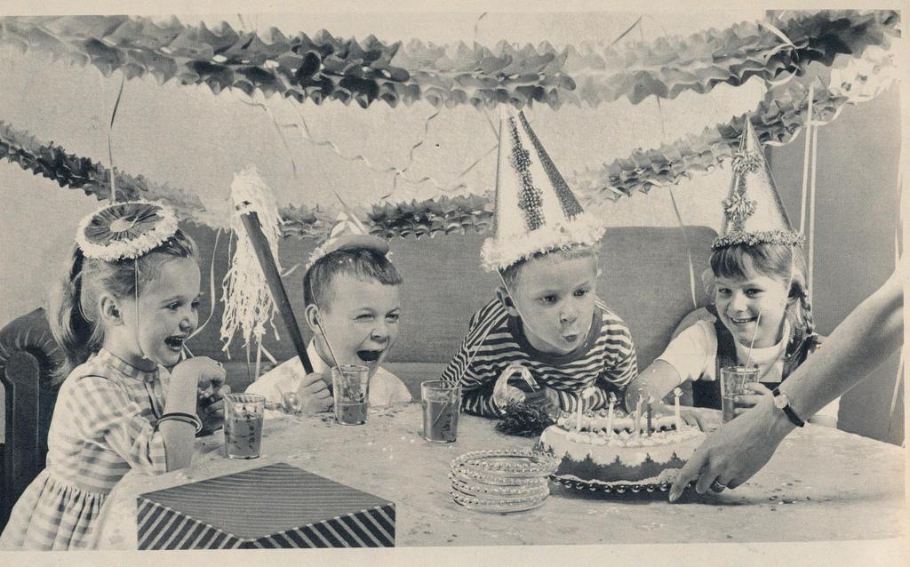 Feesten alsof je vijf bent