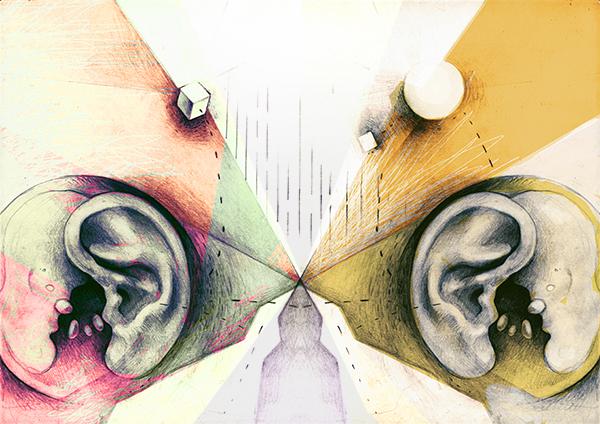 Luisteren als spelen met jezelf