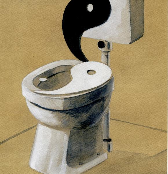 De wc-fluisteraar