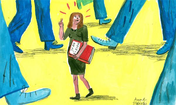 Hoe Joan Didion mij redde van de onzekerheid