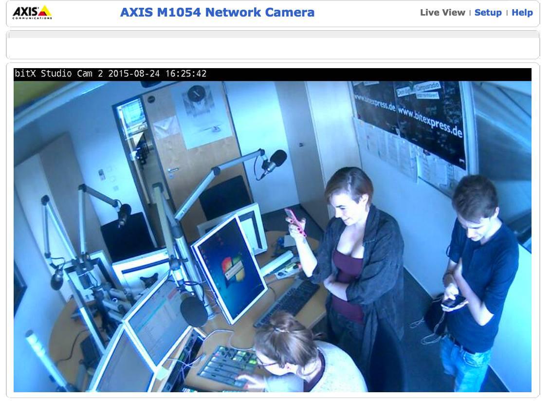 Verborgen webcams