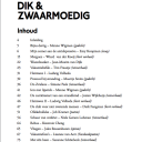 Inhoudsopgave Zomerboek 3