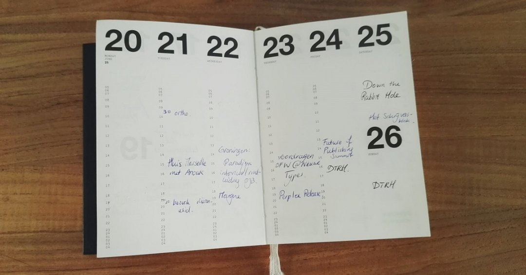 TIP: Koester je handschrift