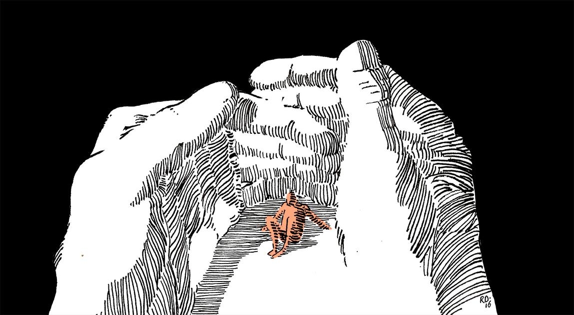 Het cadavre (XVI): Huilen