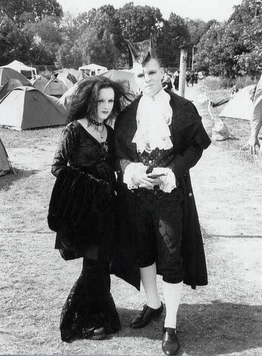 Ooit was ik een weekend gothic