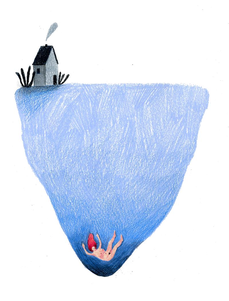Onder water zijn