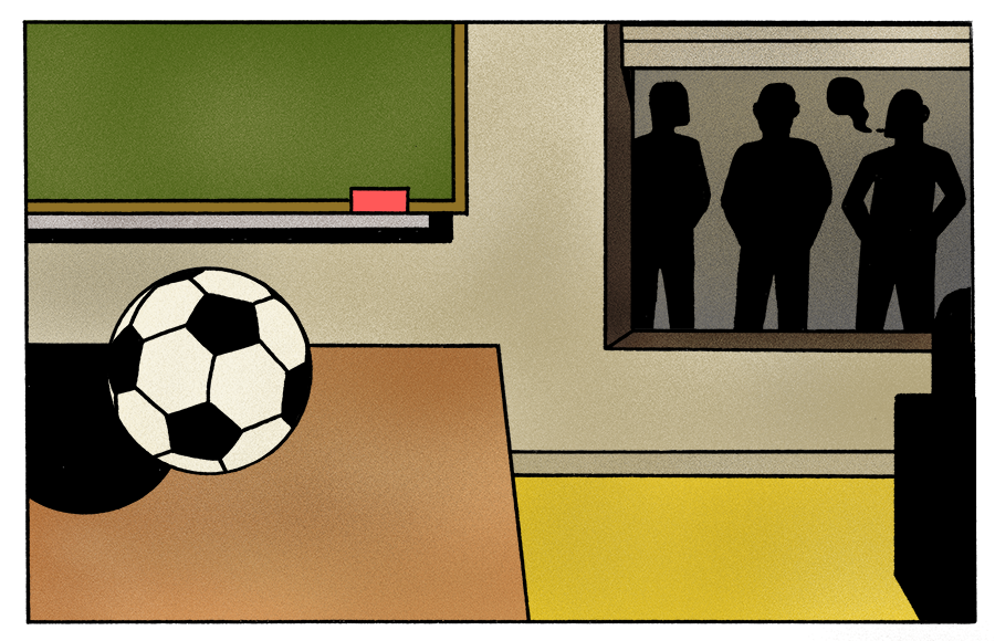 Kort verhaal: Het voetbalpleintje