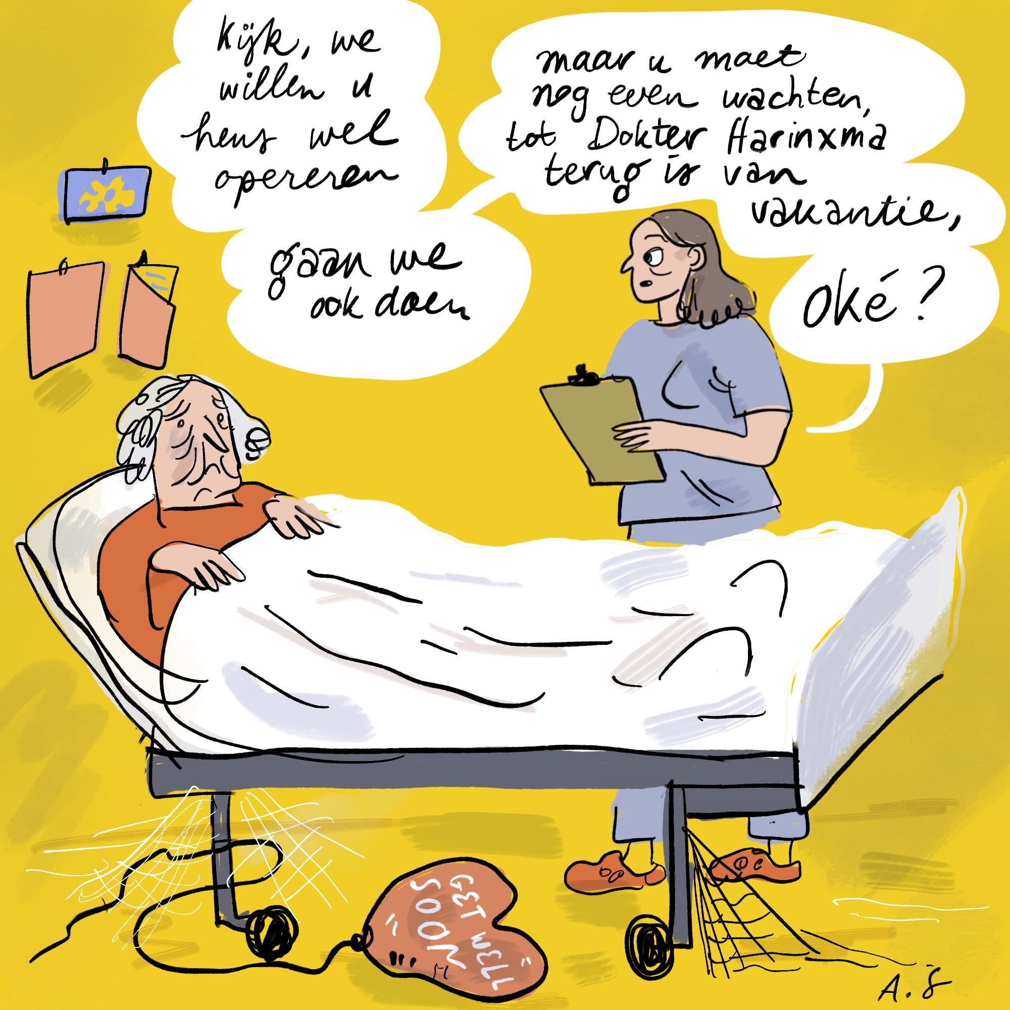 Tekort aan personeel bij ziekenhuizen