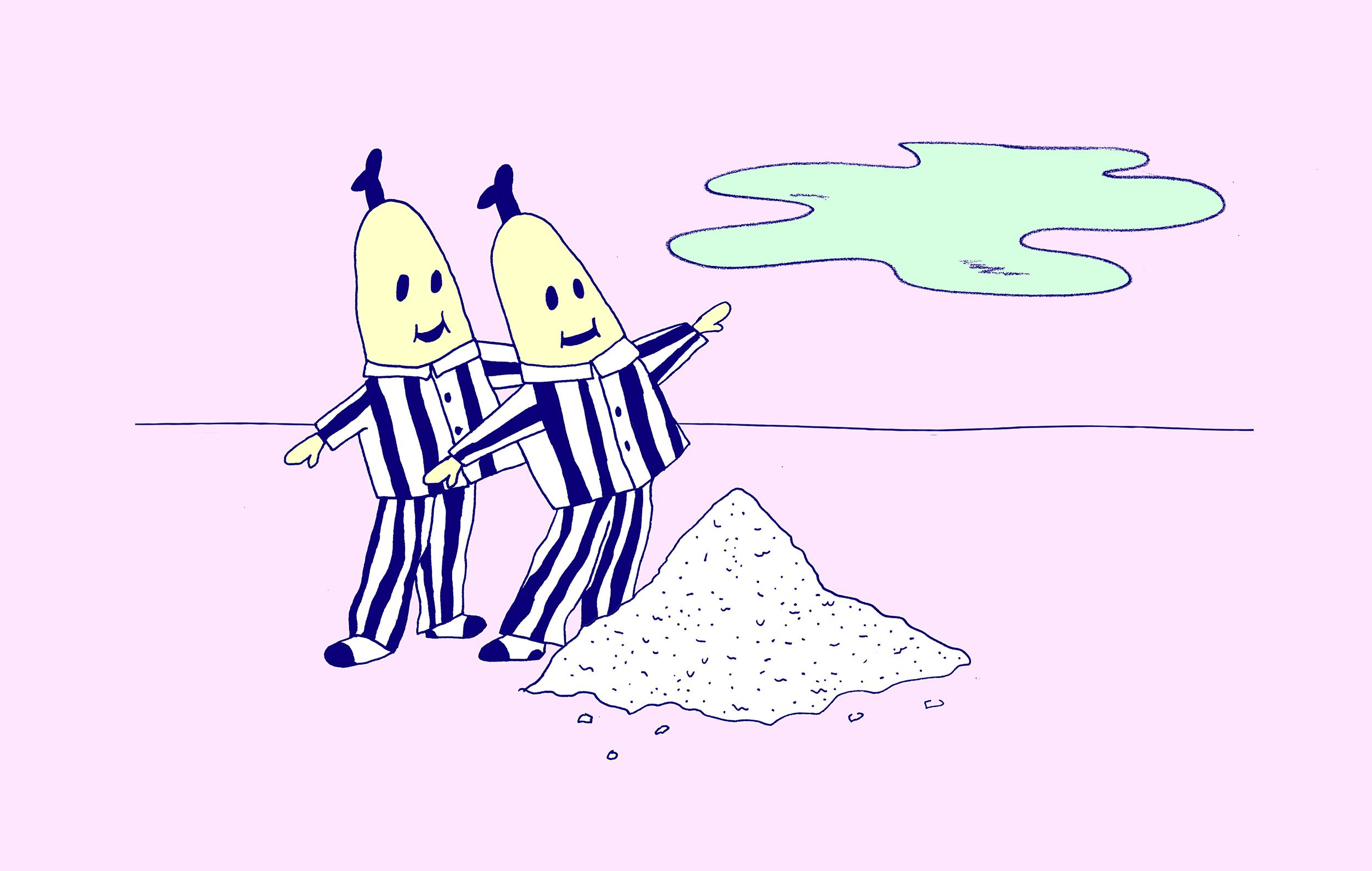 Bananen en cocaïne