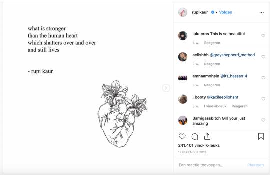 Instagrampoëzie 1