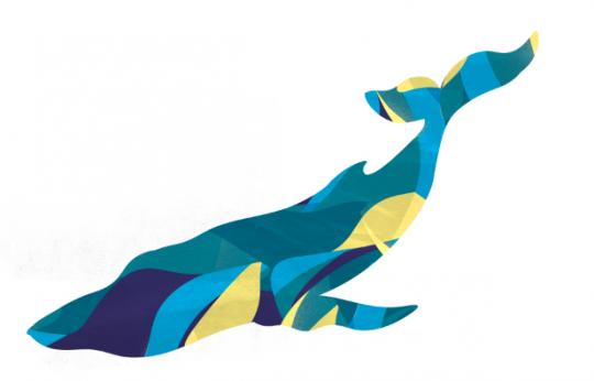 Nieuws in Beeld: Plastic walvis