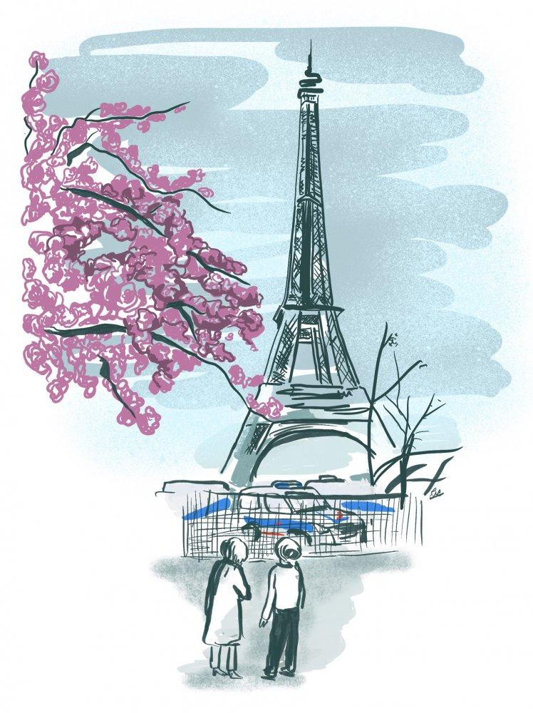 Column: Twee zussen in Parijs