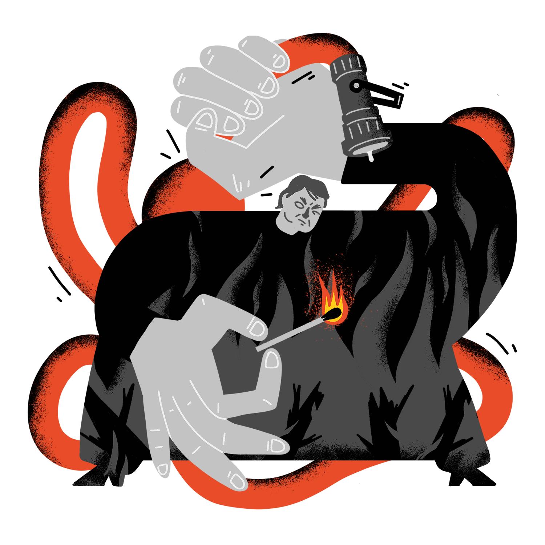 Amazone-branden laten Bolsonaro koud