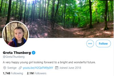 Greta Thunbergs requiem voor een droom